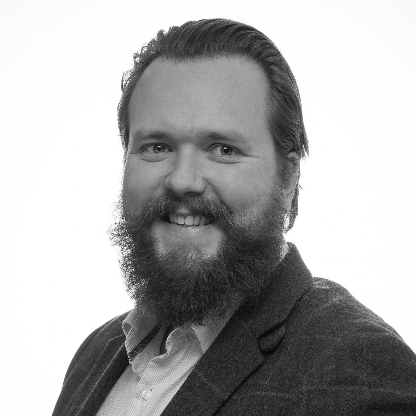 Niklas - Svartvit profil